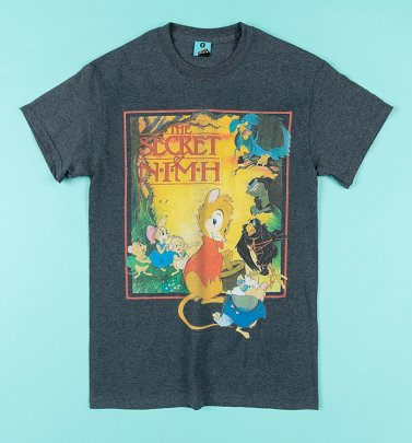 The Secret Of Nimh Charcoal Marl T-Shirt