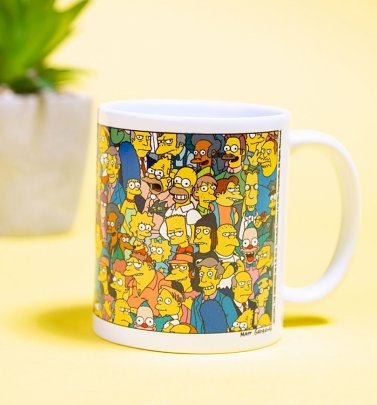 The Simpsons Characters Mug