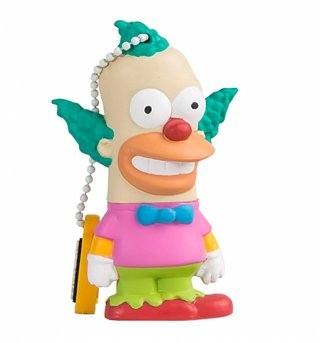 The Simpsons Krusty The Clown USB 8GB Memory Stick