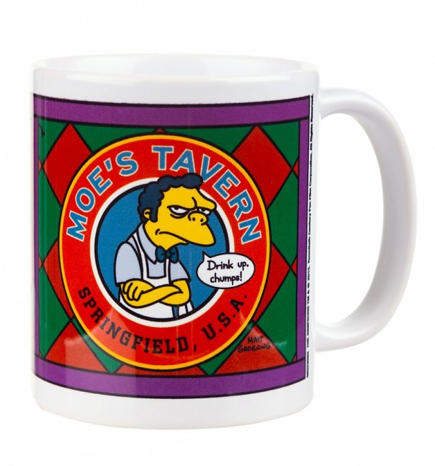 The Simpsons Moe's Tavern Mug