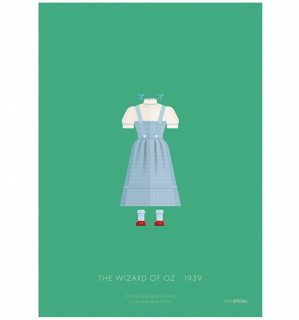 "The Wizard Of Oz Costume 11"" x 14"" Art Print"