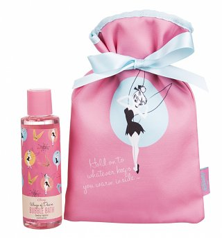 Tinker Bell Disney Cosy Care Hot Water Bottle and Bubble Bath Gift Set