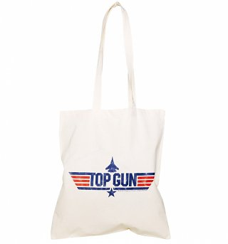 Top Gun Logo Tote Bag