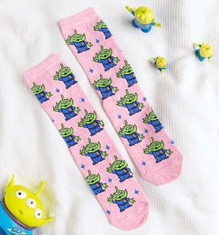 Toy Story Alien Socks