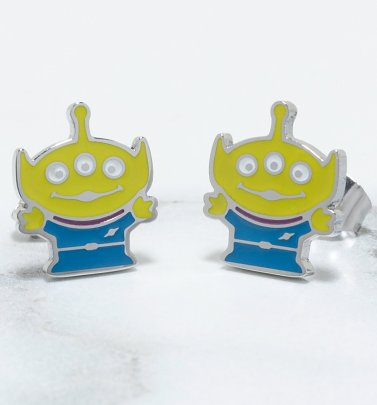 Toy Story Alien Stud Earrings