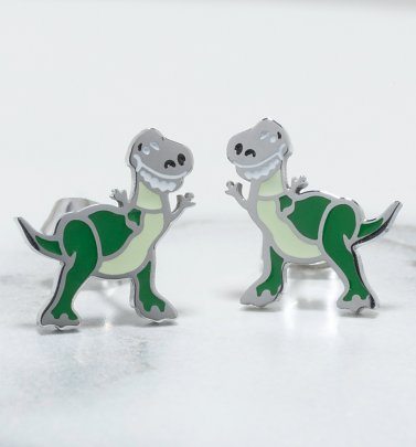 Toy Story Rex Stud Earrings