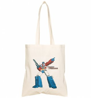 Transformers Optimus Prime Tote Bag