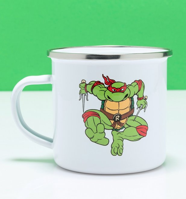 Teenage Mutant Ninja Turtles Raphael Enamel Mug