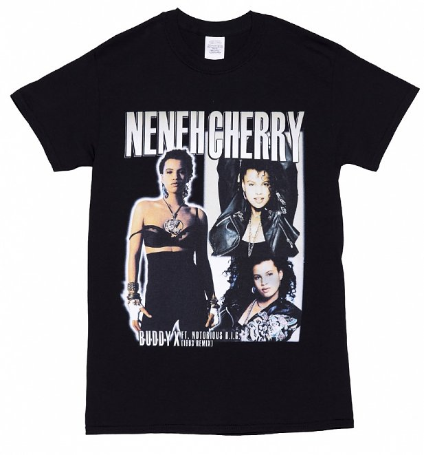 Black Neneh Cherry T-Shirt from Homage Tees