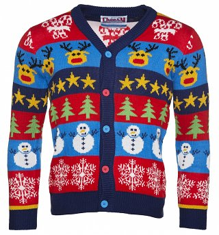 Unisex Boxing Day Christmas Cardigan from Cheesy Christmas Jumpers