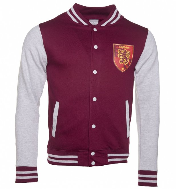 Unisex Harry Potter Gryffindor House Varsity Jacket