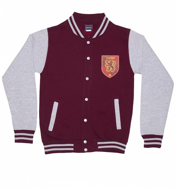 Harry Potter Book Jackets For Sale : Unisex harry potter gryffindor house varsity jacket