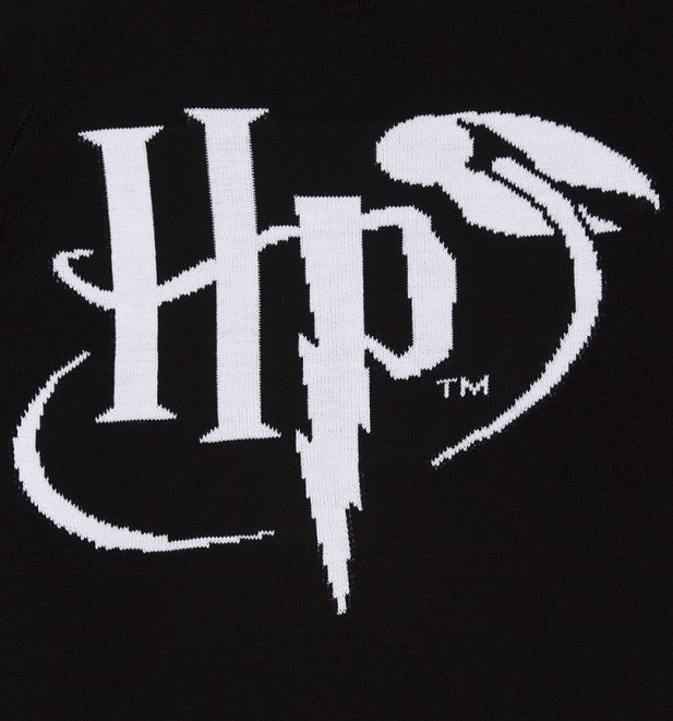 Harry Potter Logo Knitted Jumper