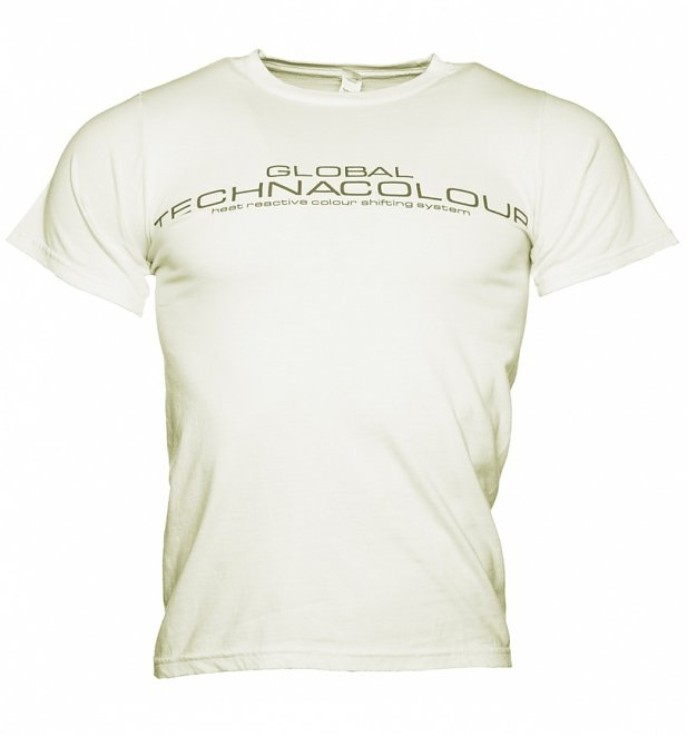 Unisex Pink to White Heat Sensitive T-Shirt from Global Technacolour