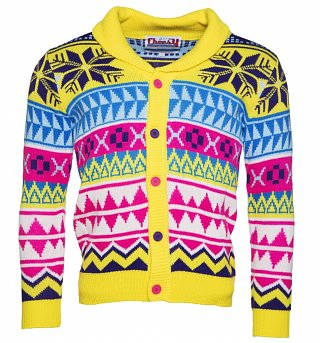 Unisex Retro Ski Sunday Christmas Cardigan from Cheesy Christmas Jumpers