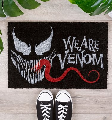 Venom We Are Venom Door Mat