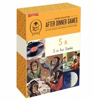 Vintage Ladybird After Dinner Games Set