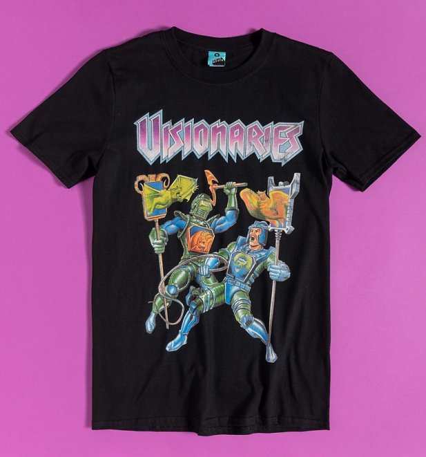 Visionaries Black T-Shirt