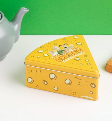 Wallace And Gromit Cracking Cheese Storage Tin
