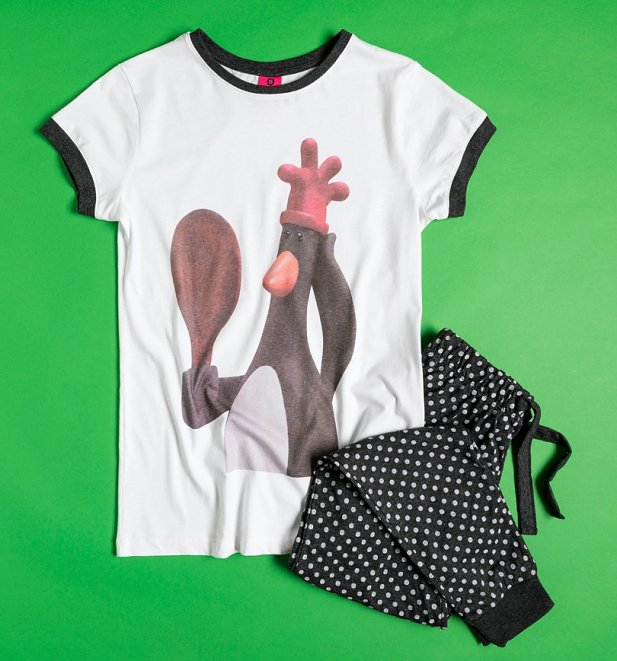 Wallace and Gromit Feathers McGraw Pyjama Set