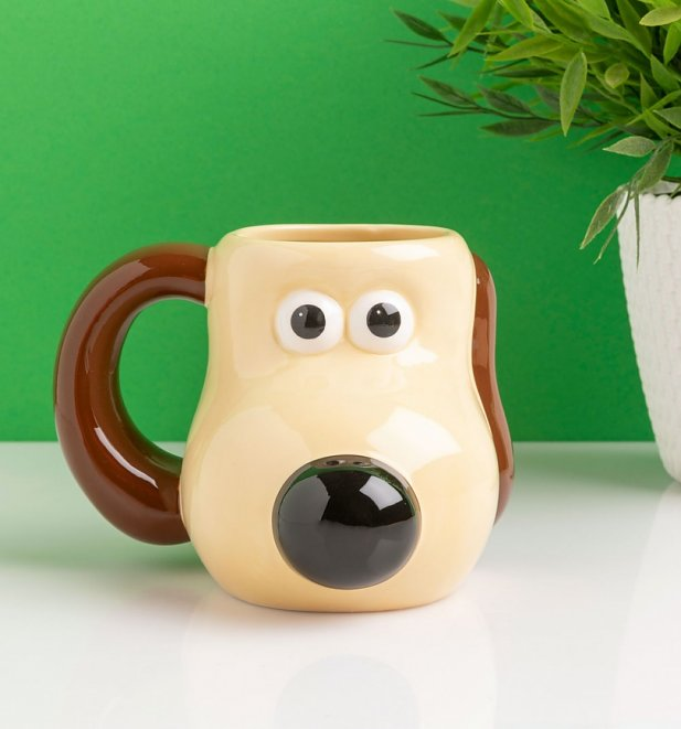 Wallace And Gromit Gromit Shaped Mug