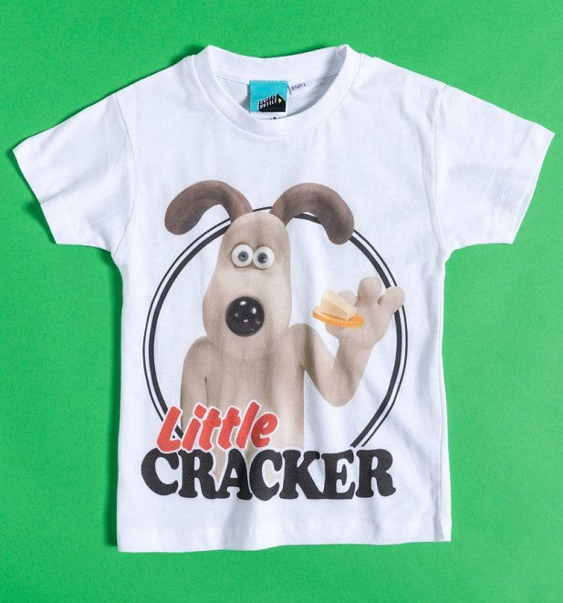 Wallace And Gromit Mini Me Kids T-Shirt
