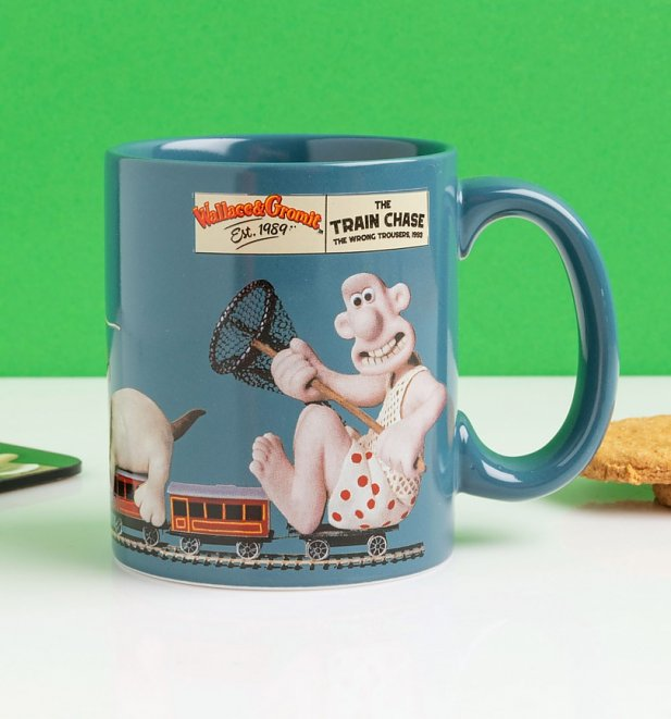 Wallace And Gromit The Wrong Trousers Mug
