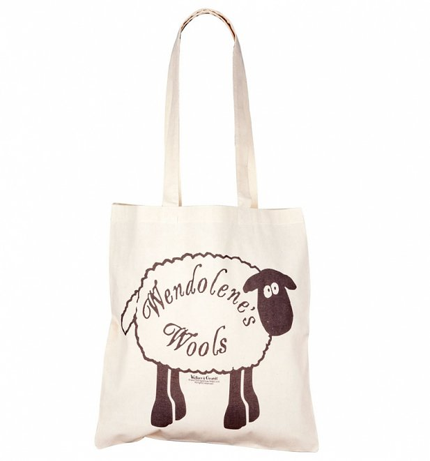 Wallace and Gromit Wendolene's Wools Tote Bag
