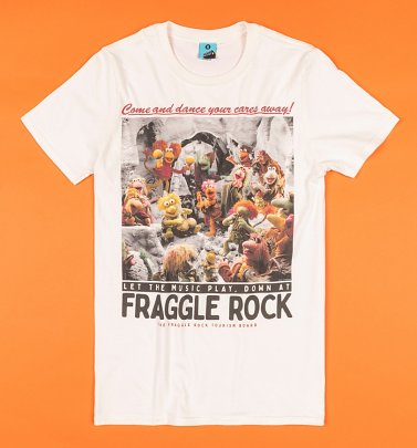 Welcome To Fraggle Rock Ecru T-Shirt