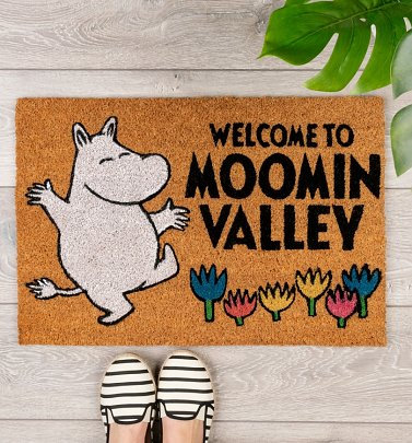 Welcome To Moominvalley Door Mat
