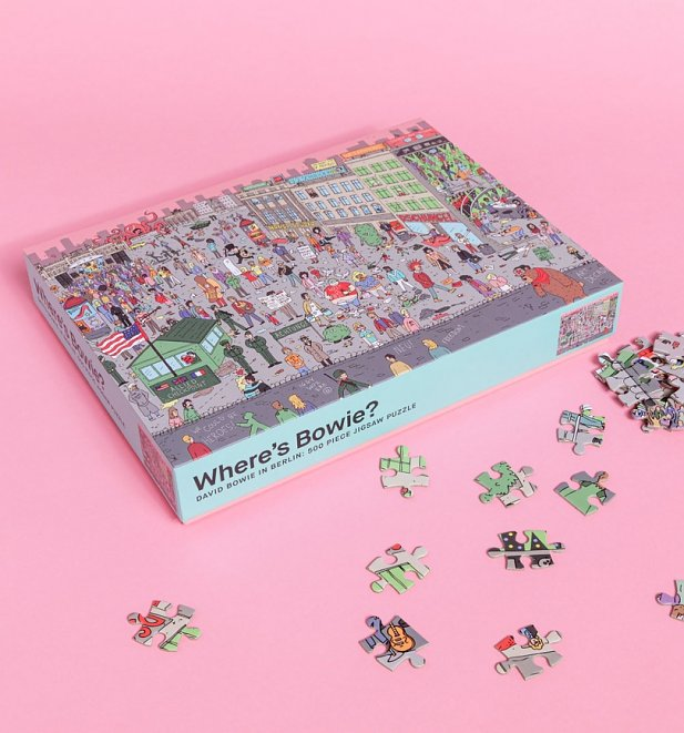 Where's Bowie? 500 Piece Street Scene Jigsaw Puzzle