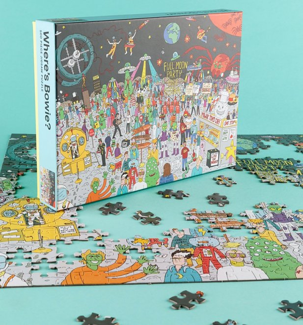 Where's Bowie? 500 Piece Festival Jigsaw Puzzle