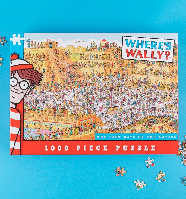 Where's Wally Aztec 1000 Piece Jigsaw Puzzle