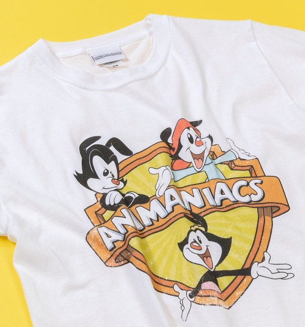 White Animaniacs T-Shirt