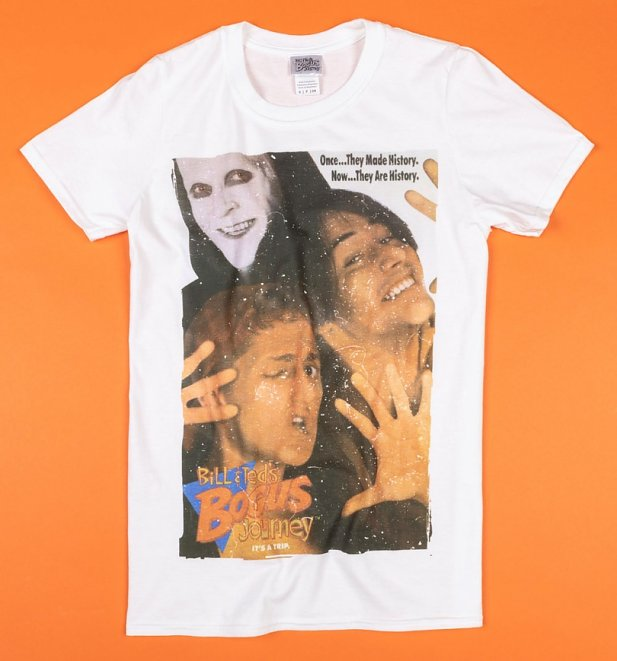 White Bill and Ted T-Shirt