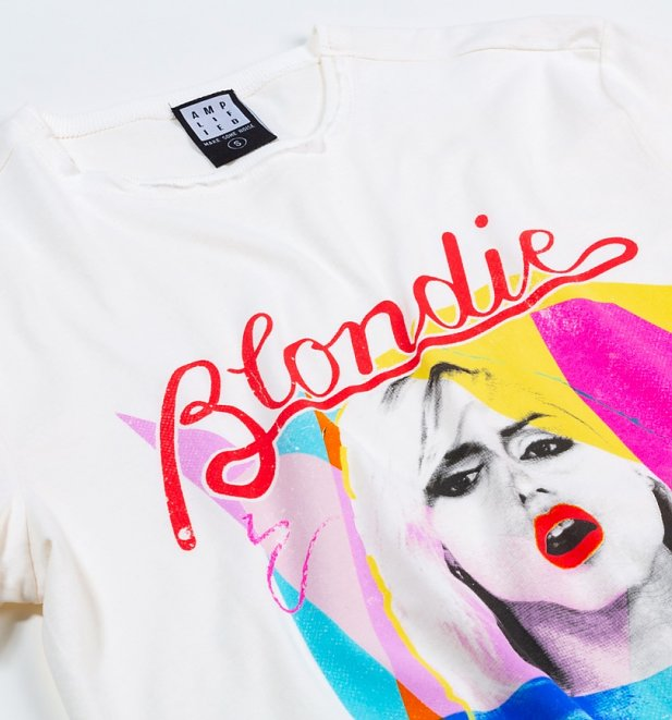 Off White Blondie 80s T-Shirt from Amplified