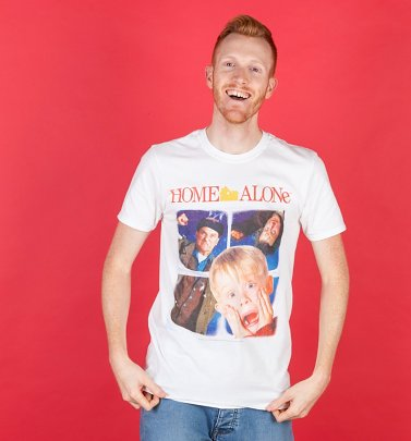 White Home Alone T-Shirt