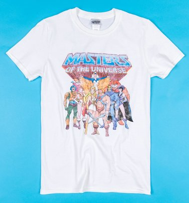 White Masters Of The Universe T-Shirt