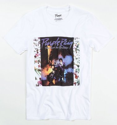 White Prince Purple Rain T-Shirt