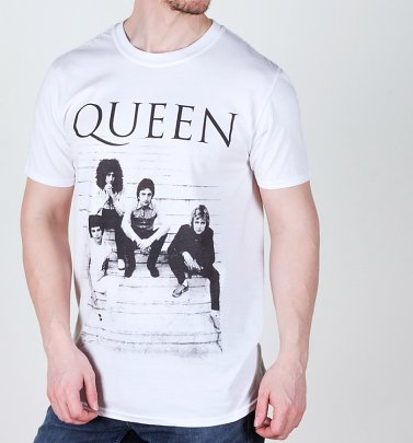 White Queen Stairs T-Shirt