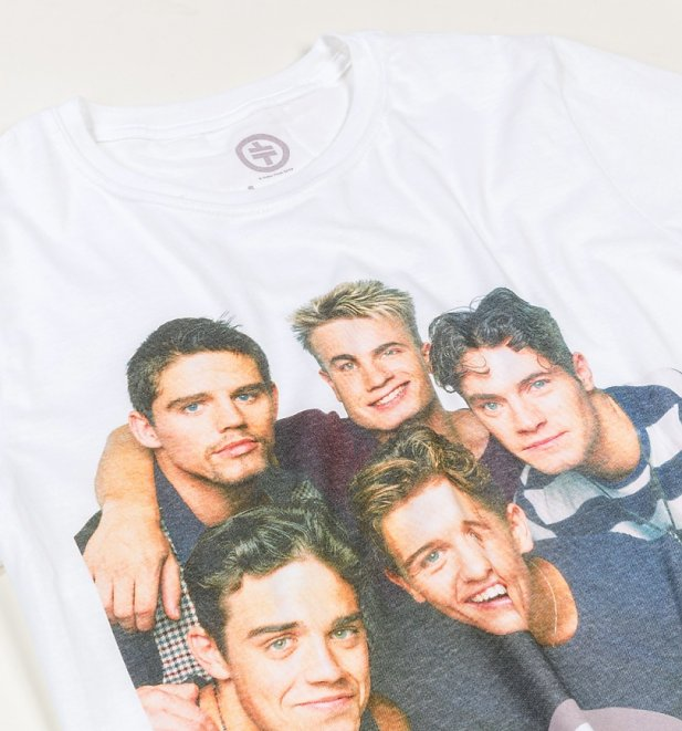 White Take That T-Shirt