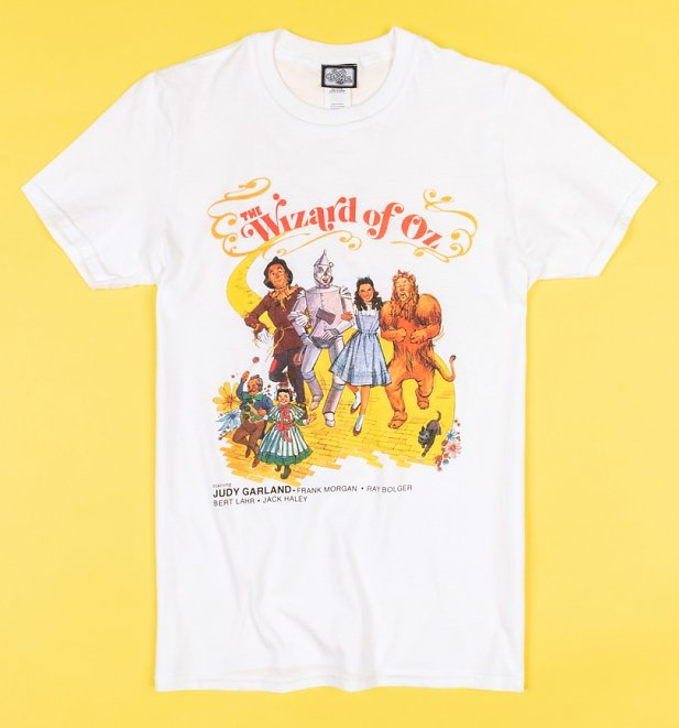 White Vintage Wizard of Oz T-Shirt