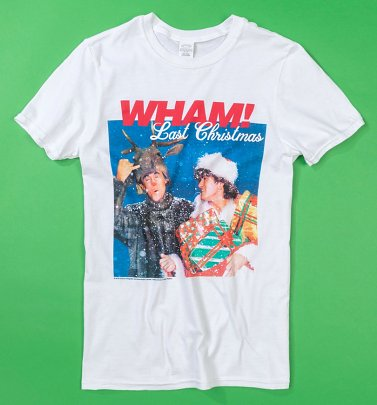 White Wham Last Christmas T-Shirt