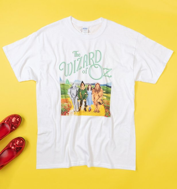 Men's White Wizard Of Oz T-Shirt