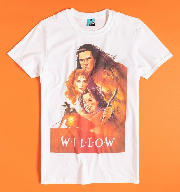 Willow Movie Poster White T-Shirt