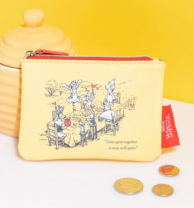 Winnie The Pooh Time Spent Together Coin Purse