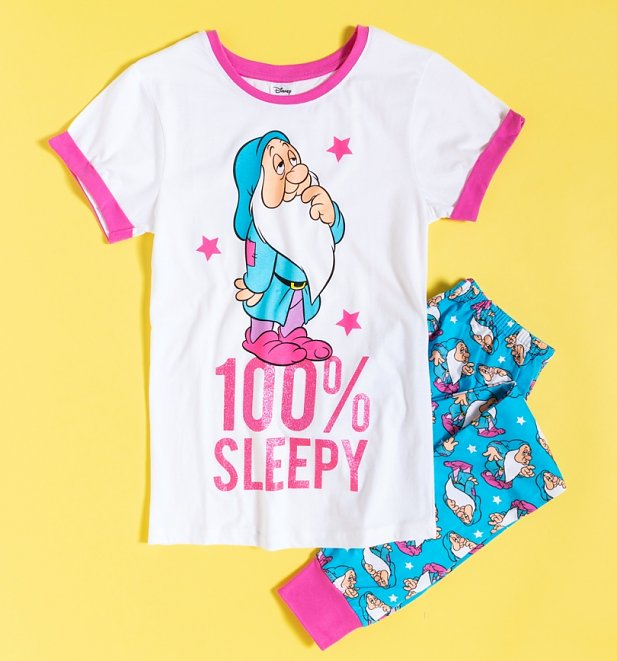 Women's 100% Sleepy Snow White Pyjamas