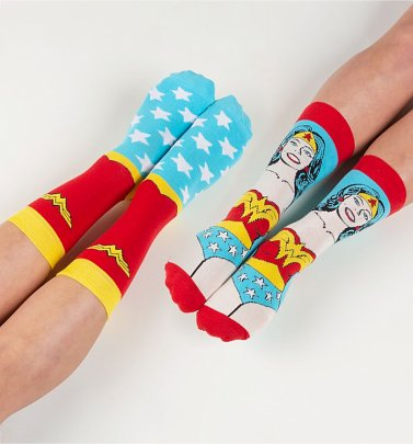 """Wonderwoman""-Socken im Zweierpack im Retrolook - Wonder Woman"