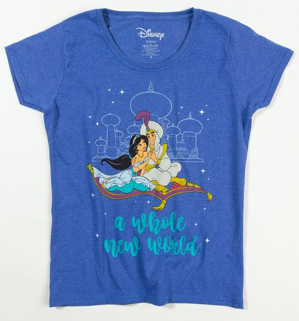 Women's Aladdin A Whole New World T-Shirt