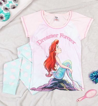 Women's Ariel The Little Mermaid Dreamer Disney Pyjamas